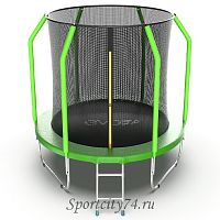 Батут Evo Jump Cosmo Internal диаметр 8ft зеленый